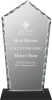 Diamond Facet Glass with Base Award Achievement Awards