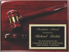 Deluxe Gavel Plaque Sales Awards