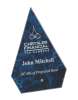 Blue Arrow Arista Glass Award Sales Awards