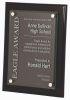 Black Piano Finish Plaque Wall Plaque Awards