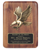 Walnut Eagle Plaque Wall Plaque Awards