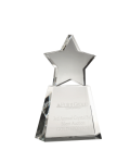 Clear Star on Clear Base Achievement Awards