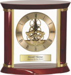 Executive Rosewood Clock Boss Gift Awards