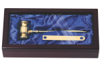 Brass Gavel Boss Gift Awards