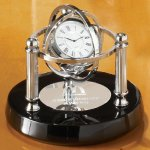 Gyroscope Desk Clocks