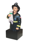 Custom Resin Figures Fire and Safety Awards