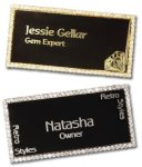 Bling Name Tags Name Badges - Name Tags