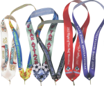 Custom Full Color Neck Ribbons Ribbon Awards