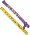 Custom One Color Adult Sash Ribbon Awards