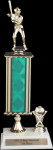 2 Hole 1 Column Riser Trophy Sports Trophies