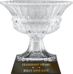 Crystal Bowl Vase Award Trophy Cups