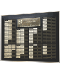 Design Panel with Header Plate Wall Plaque Awards